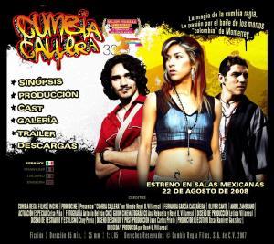 """""""Cumbia Callera"""" una pelicula de René Villarreal y escrita por Ana Rebuelta y René Villarreal."""
