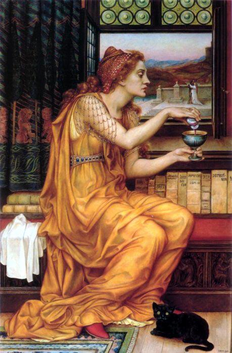 Clase III: Aghata Amortentia Evlyn-de-morgan-the-love-potion-blog-de-oldpaint