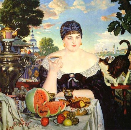 boris-kustodiev-merchants-wife-1918-de-old-paint