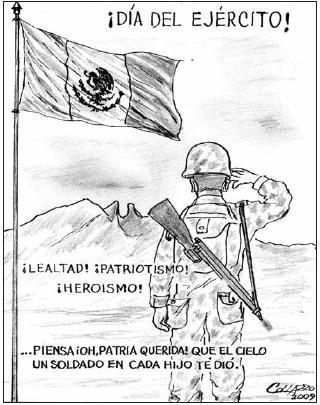 cartón de Collazo, El Regio, 19 de febrero 2009