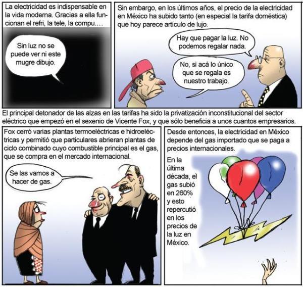monero El Fisgón, num 167, febrero 22 del 2009 (fragmento)