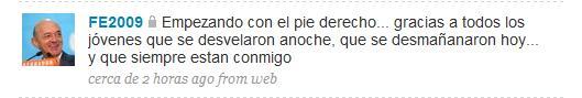 Fernando Elizondo (PAN) en tweet