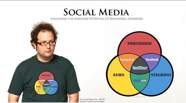 social media tshirt