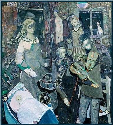 "Kai Fjell ""Spillemen"", 1953"