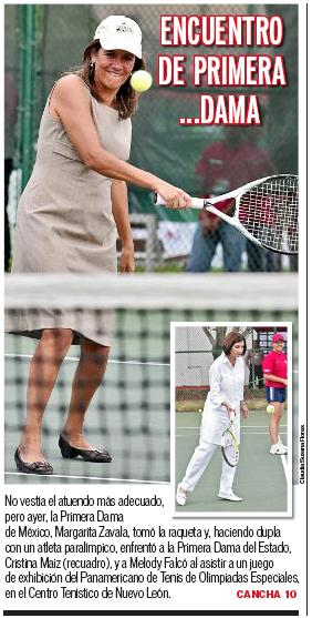 Margarita Zavala, Cristina Maiz y sus zapatos
