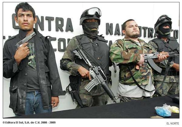 narcos con armas 31 ago 09 el nte
