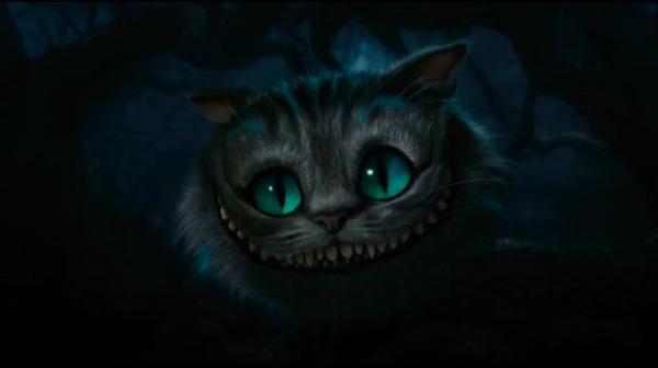 Cheshire Cat de Tim Burton