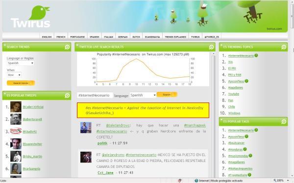 en español #InternetNecesario es número uno