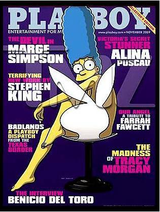 portada de Playboy noviembre 2009