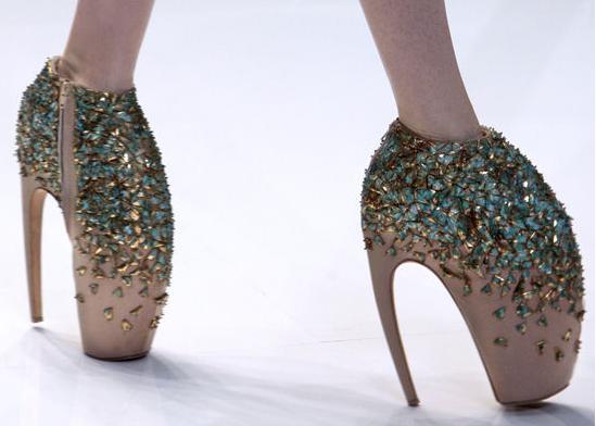Zapatos Alexander McQueen Primavera 2010