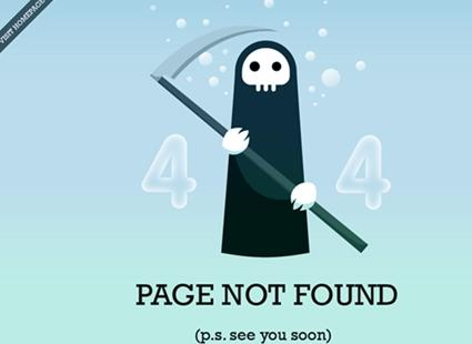 page not found grim ripper