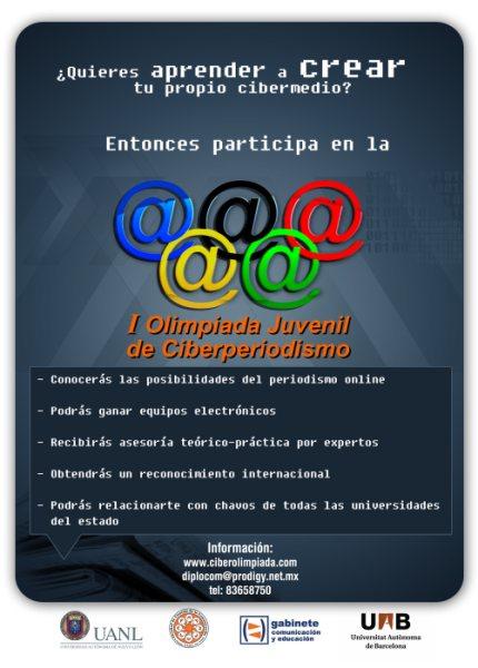 Póster Olimpiada Ciberperiodismo 2009